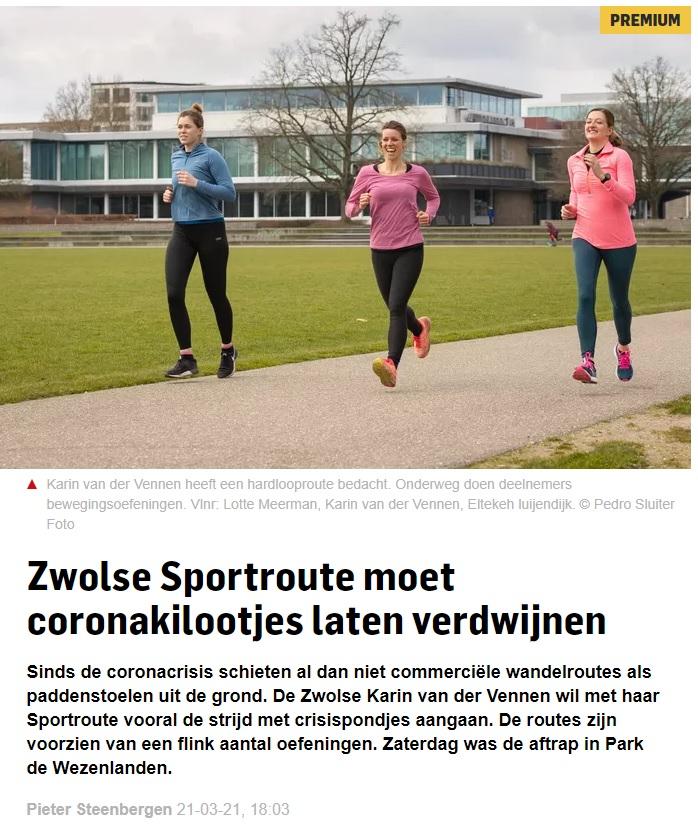 Interview Karin van der Vennen Stentor