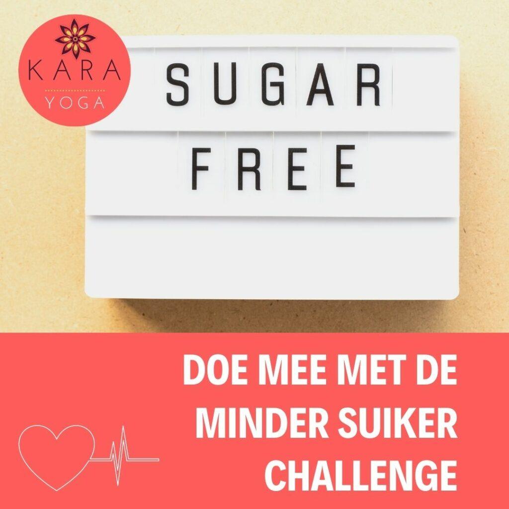 Minder suiker challenge